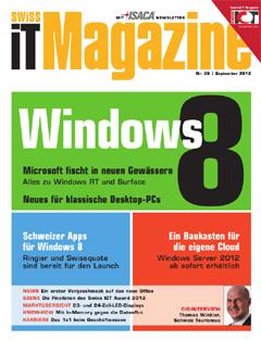 Swiss IT Magazine Cover Ausgabe 2012/itm_201209