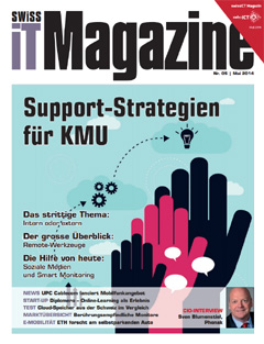Swiss IT Magazine Cover Ausgabe 2014/itm_201405