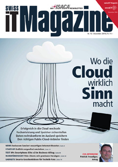 Swiss IT Magazine Cover Ausgabe 201612