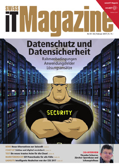 Swiss IT Magazine Cover Ausgabe 201701
