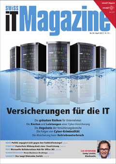 Swiss IT Magazine Cover Ausgabe 201704