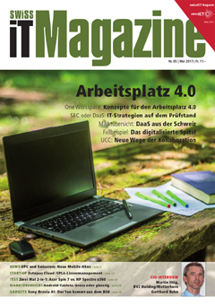 Swiss IT Magazine Cover Ausgabe 201705