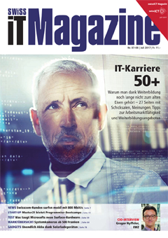 Swiss IT Magazine Cover Ausgabe 201707