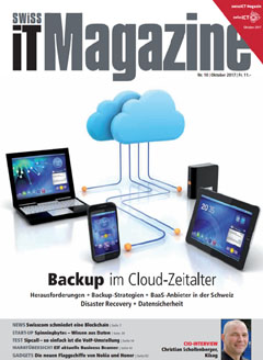 Swiss IT Magazine Cover Ausgabe 201710