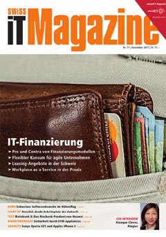 Swiss IT Magazine Cover Ausgabe 201711
