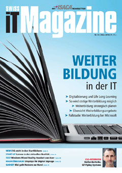 Swiss IT Magazine Cover Ausgabe 201803