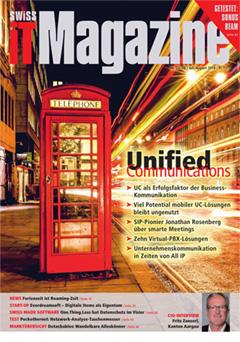 Swiss IT Magazine: Cover der Ausgabe 2018/07