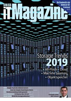 Swiss IT Magazine: Cover der  Ausgabe 2019/05