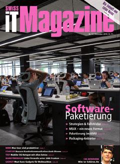 Swiss IT Magazine: Cover der  Ausgabe 2019/12