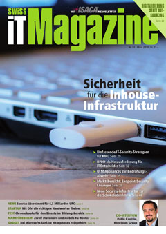 Swiss IT Magazine Cover Ausgabe 201903
