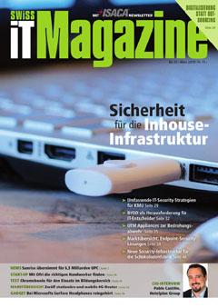 Swiss IT Magazine: Cover der Ausgabe 2019/03
