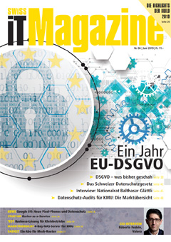 Swiss IT Magazine Cover Ausgabe 201906
