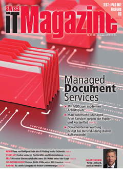 Swiss IT Magazine Cover Ausgabe 201907