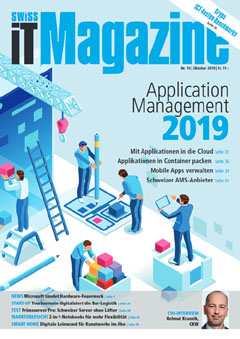 Swiss IT Magazine Cover Ausgabe 201910