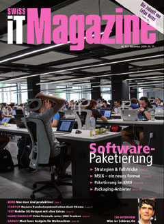 Swiss IT Magazine Cover Ausgabe 201912