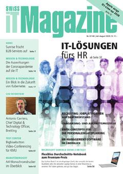 Swiss IT Magazine: Cover der  Ausgabe 2020/07