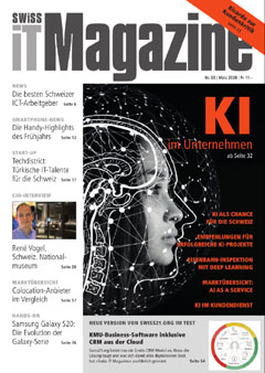 Swiss IT Magazine Cover Ausgabe 202003