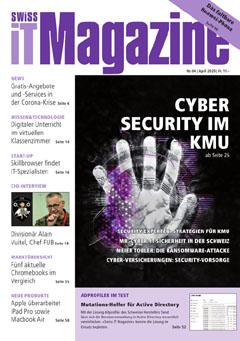 Swiss IT Magazine: Cover der Ausgabe 2020/04