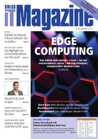 Swiss IT Magazine: Cover der Ausgabe 2021/04