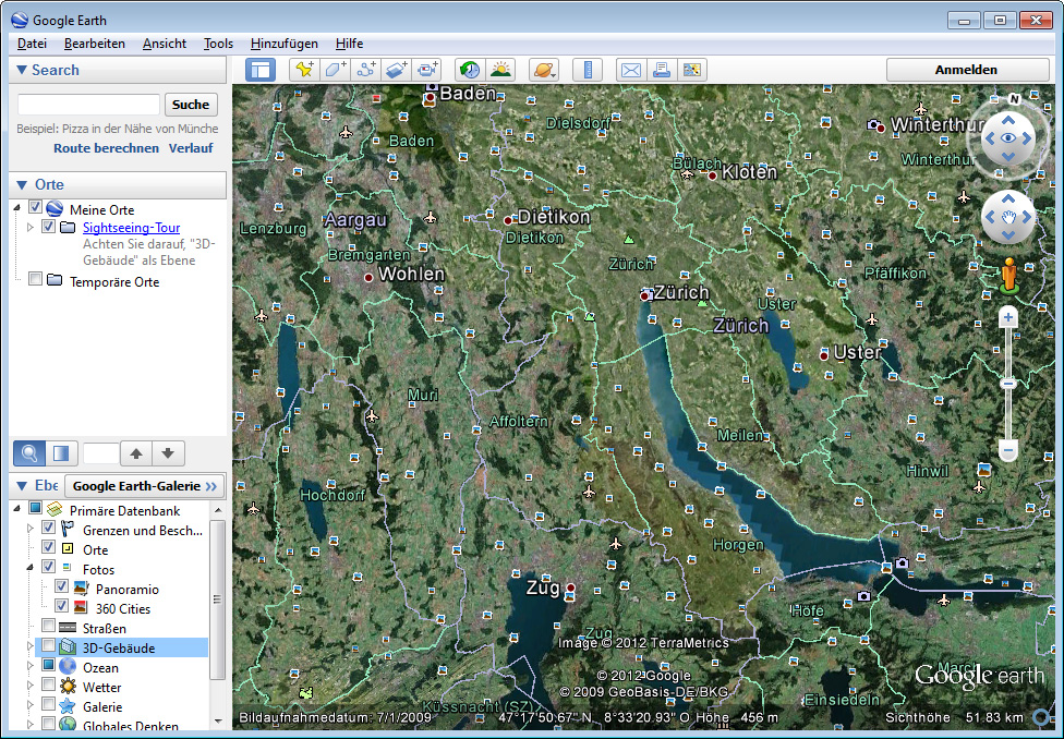 Google Earth Pro Download - Swiss IT Magazine Freeware on