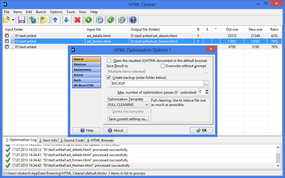 HTML Cleaner Download - Swiss IT Magazine Freeware