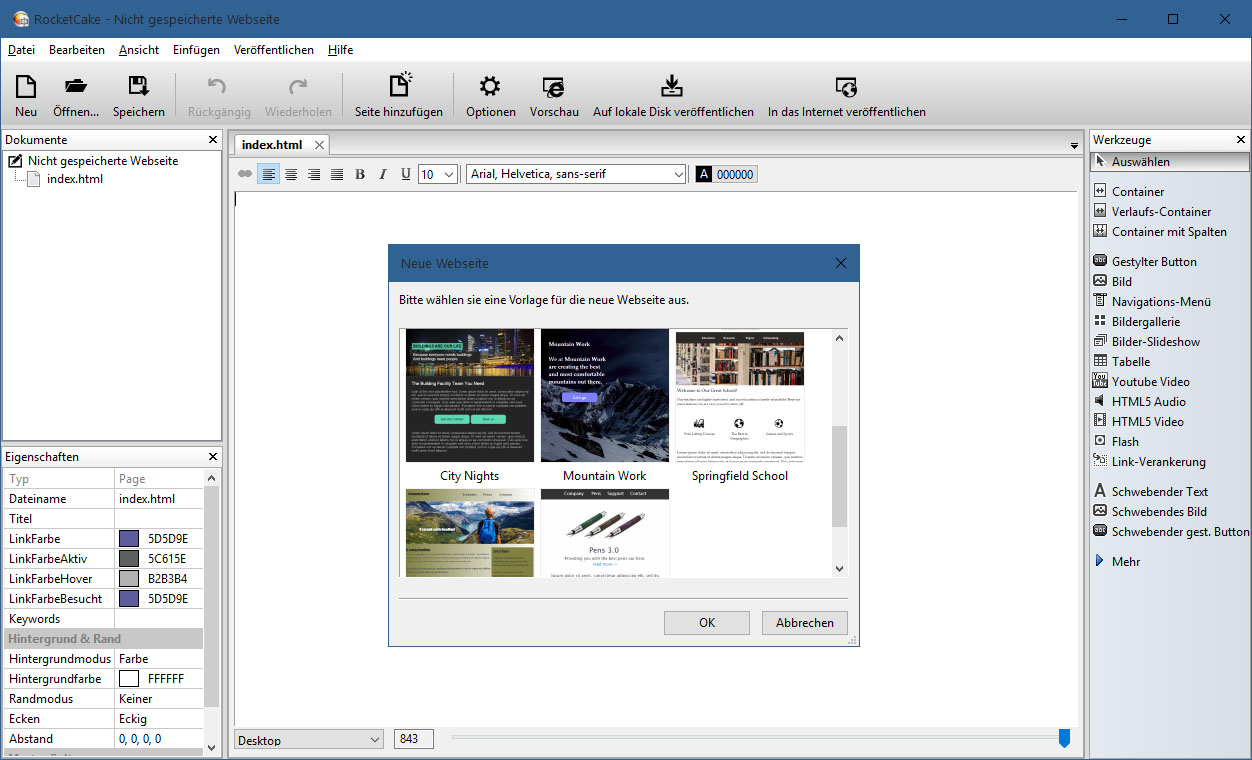 RocketCake Download - Swiss IT Magazine Freeware