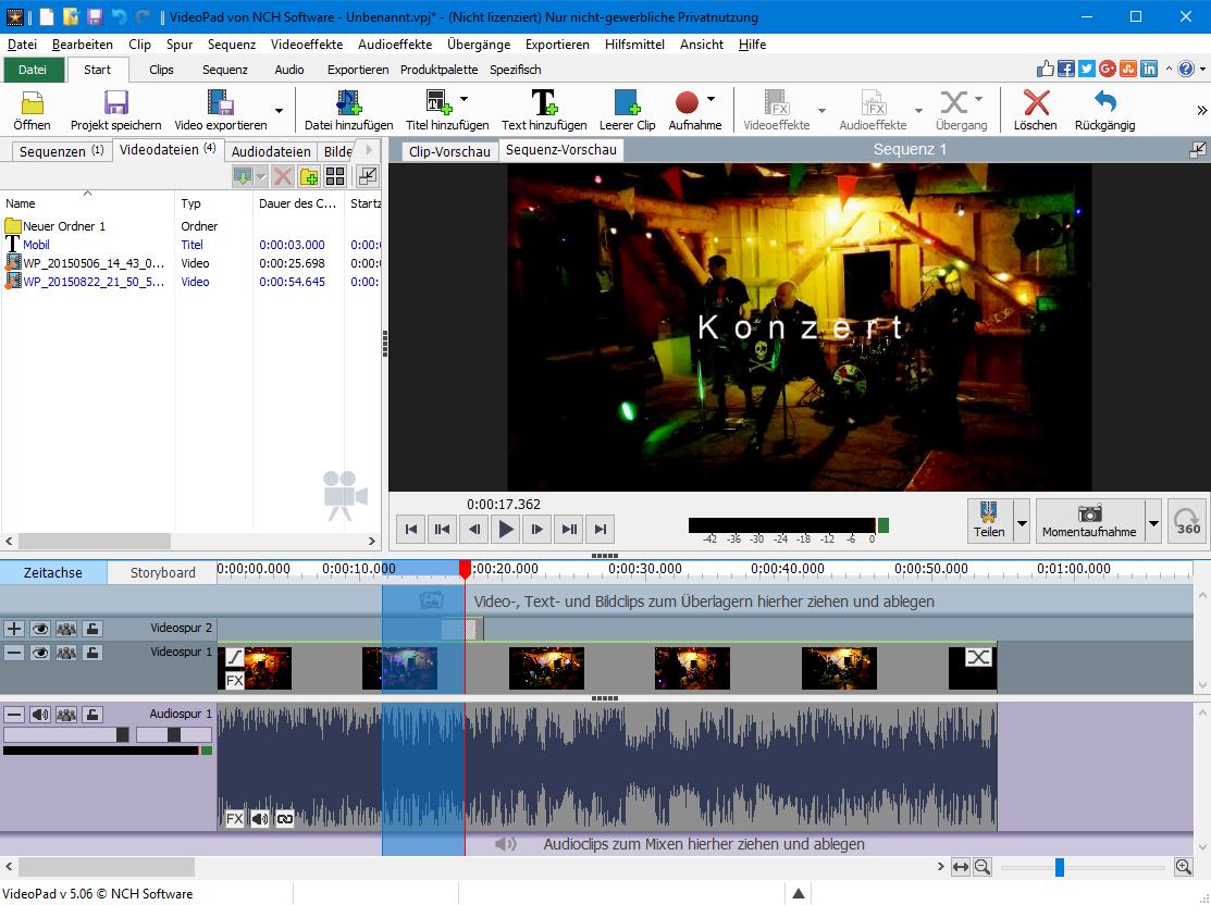 download videopad video editor for windows 7 64 bit