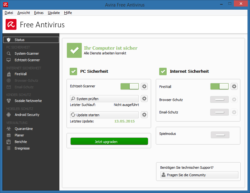 Avira Free Antivirus Download Swiss It Magazine Freeware