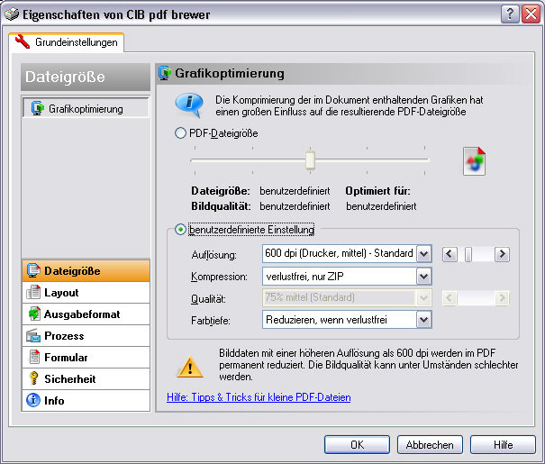 CIB pdf brewer (free version) download for PC