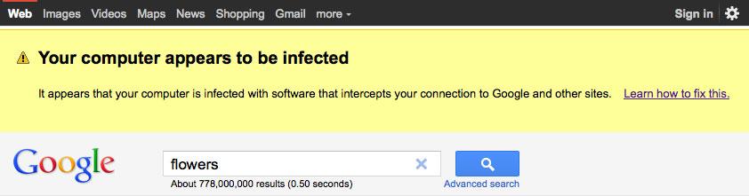 Google Warnt Vor Viren