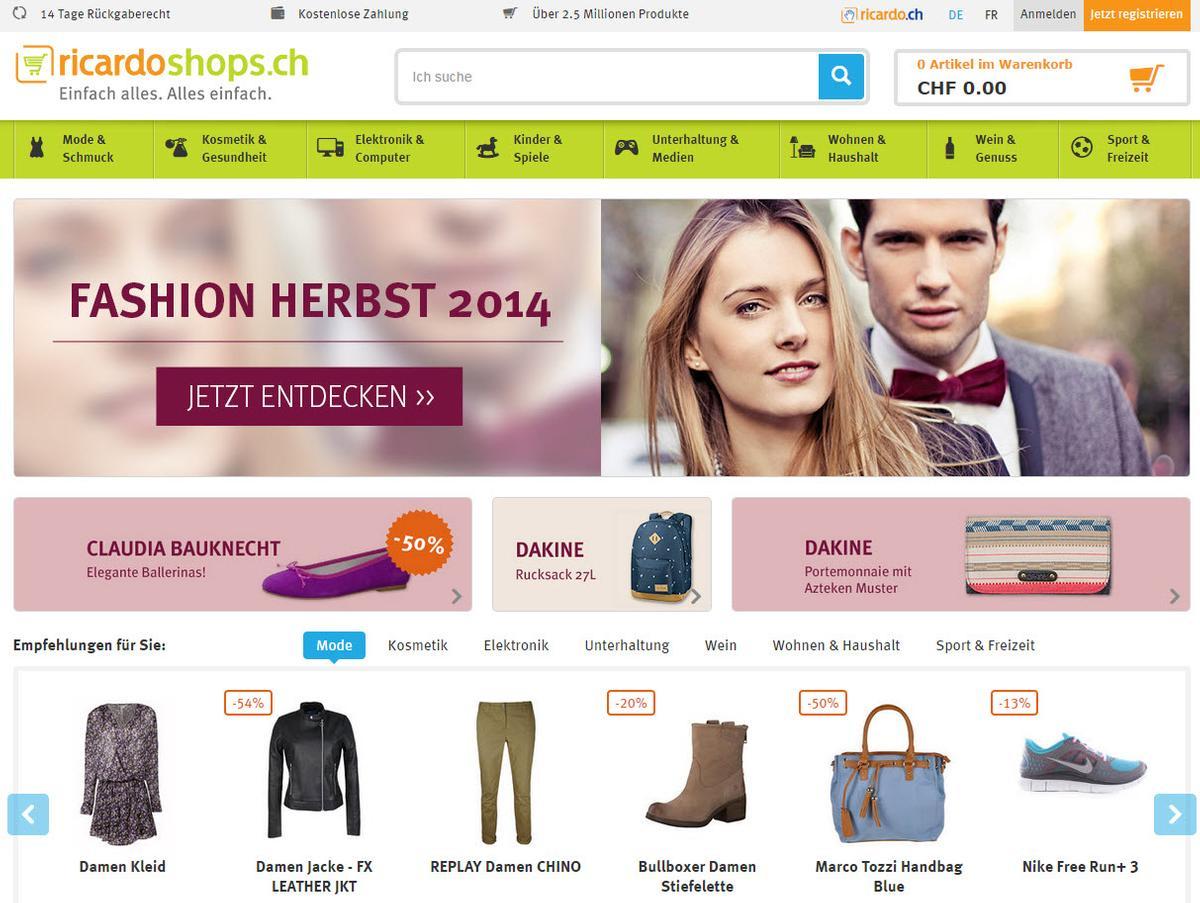 riccardo online shop