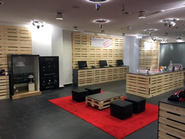 er ffnet station ren laden it magazine. Black Bedroom Furniture Sets. Home Design Ideas