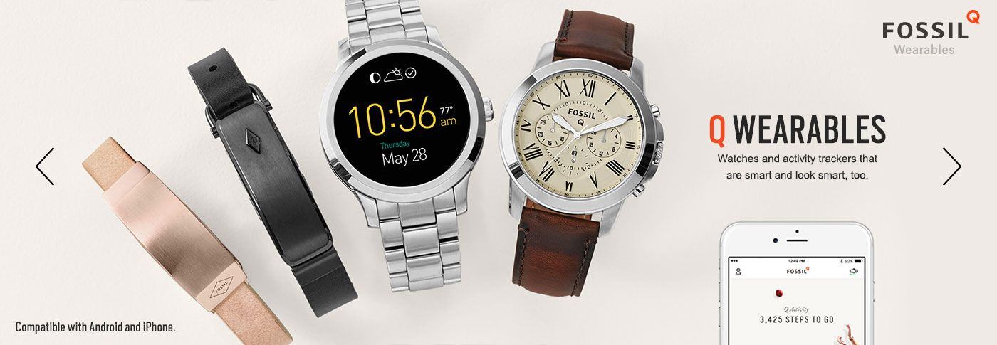 Fossil Group startet Wearable-Grossangriff