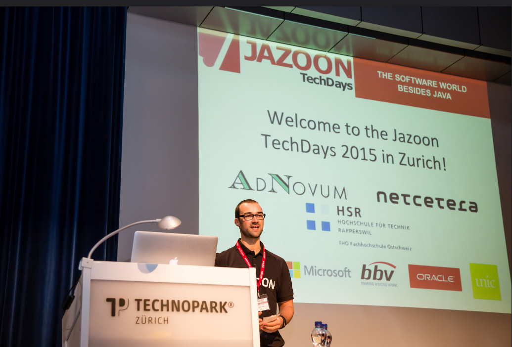 Erster Jazoon Techday in Bern