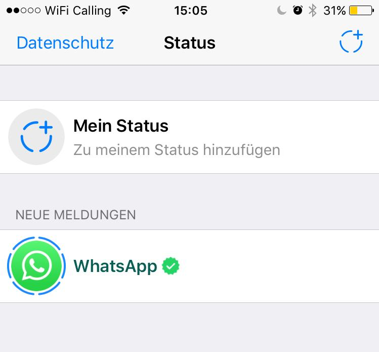 Whatsapp Bringt Alte Status Möglichkeit Zurück It Magazine