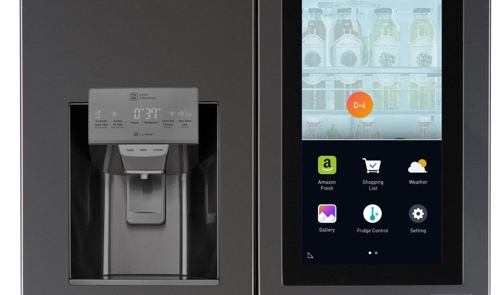 Kühlschrank Lg : Ces lg bringt kühlschrank mit webos und transparentem display