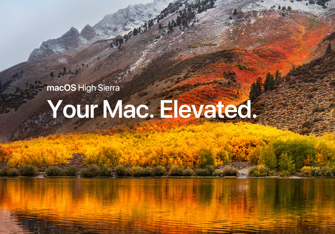 MacOS High Sierra kommt am 25. September