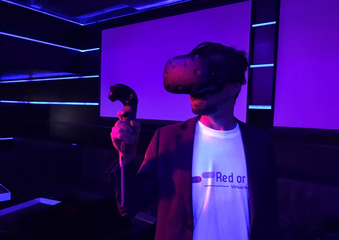 Start-up Red or Blue eröffnet erstes Virtual Reality Lab in Zürich