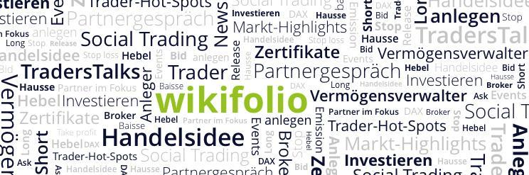 social trading platform wikifolio