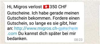 Betr-gerische-Whatsapp-Nachrichten-locken-mit-Migros-Gutscheinen