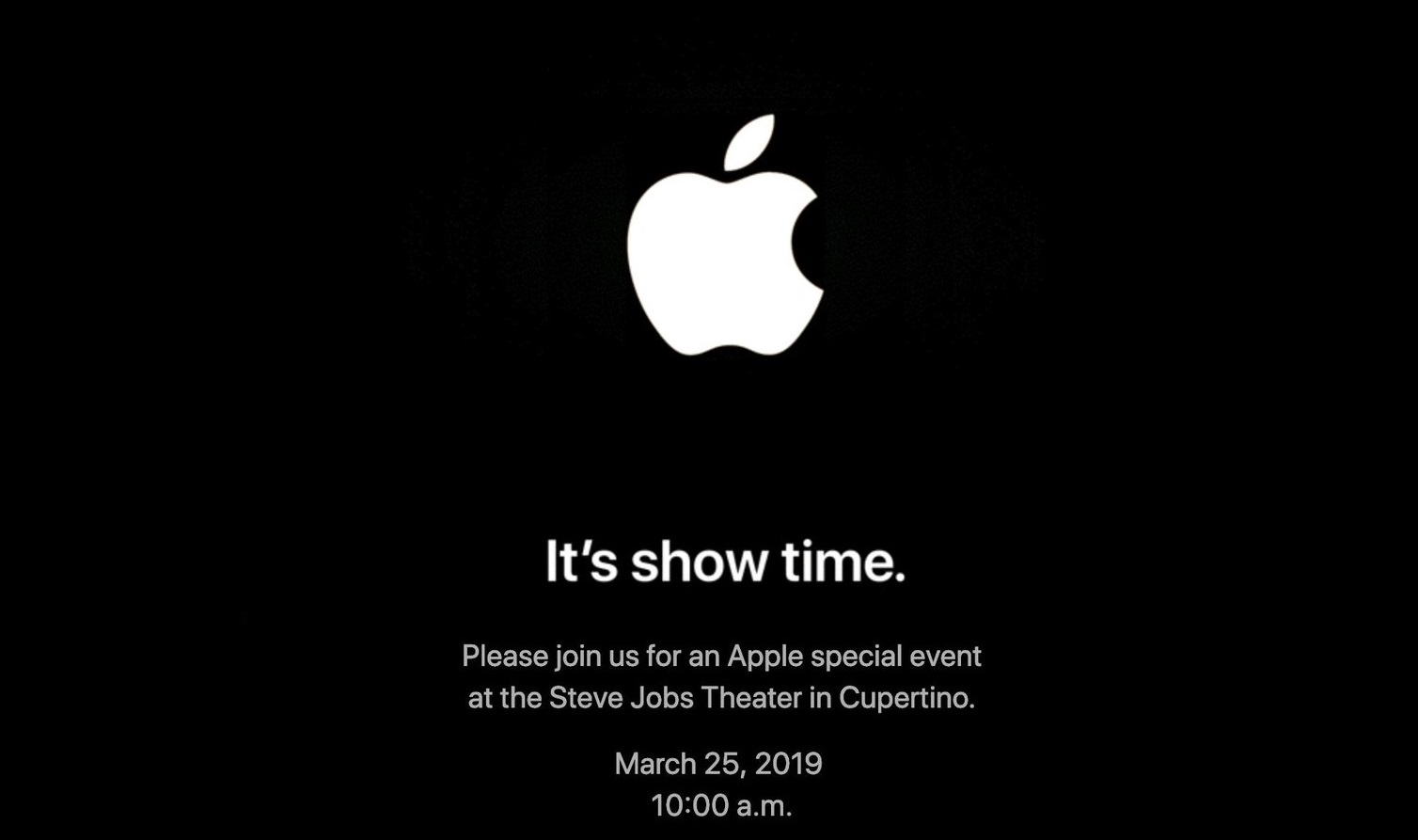 It's Showtime - Apple-Videodienst steht vor der Tür