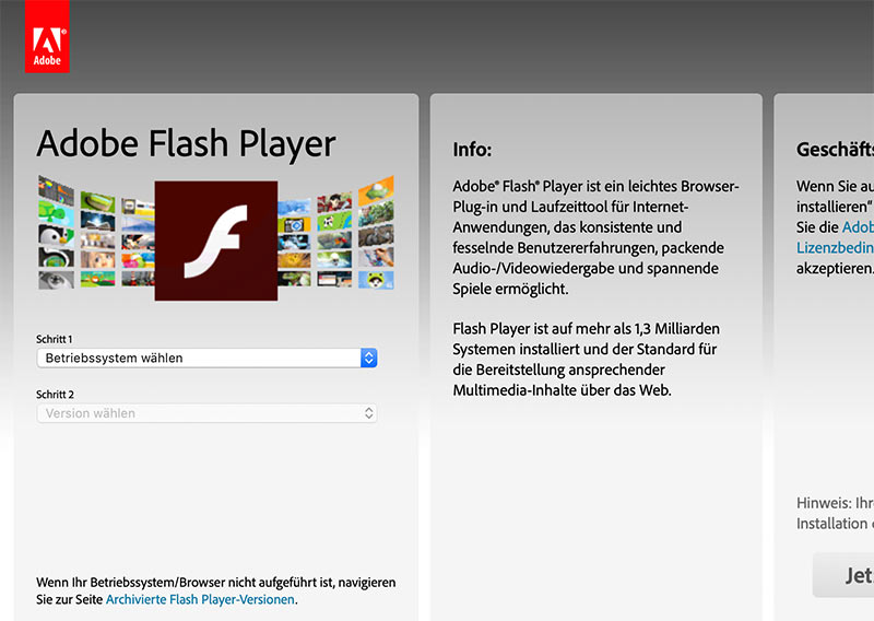Schluss mit Flash in Safari