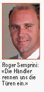 Nun ist vieles klarer geworden und Roger Semprini kann endlich das tun, was er schon lange gerne ... - allebilder22fa