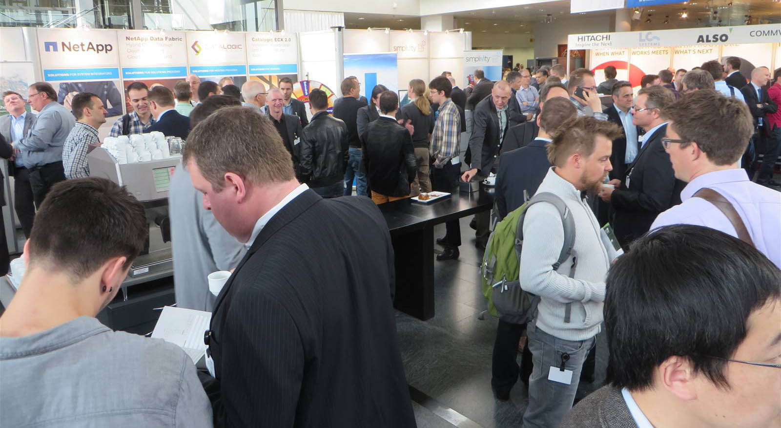 Volles Haus am Storage Solutions Day 2015