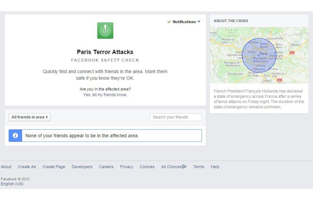 Facebook Sicherheitscheck