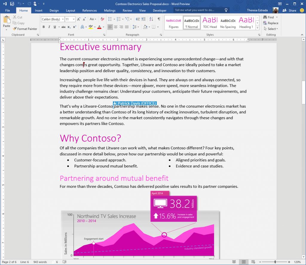 Öffentliche Preview Von Office 2016 Ist Da