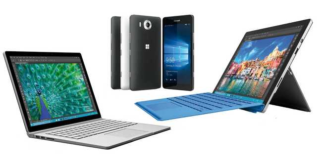 Getestet: Surface Book, Surface Pro 4, Lumia 950