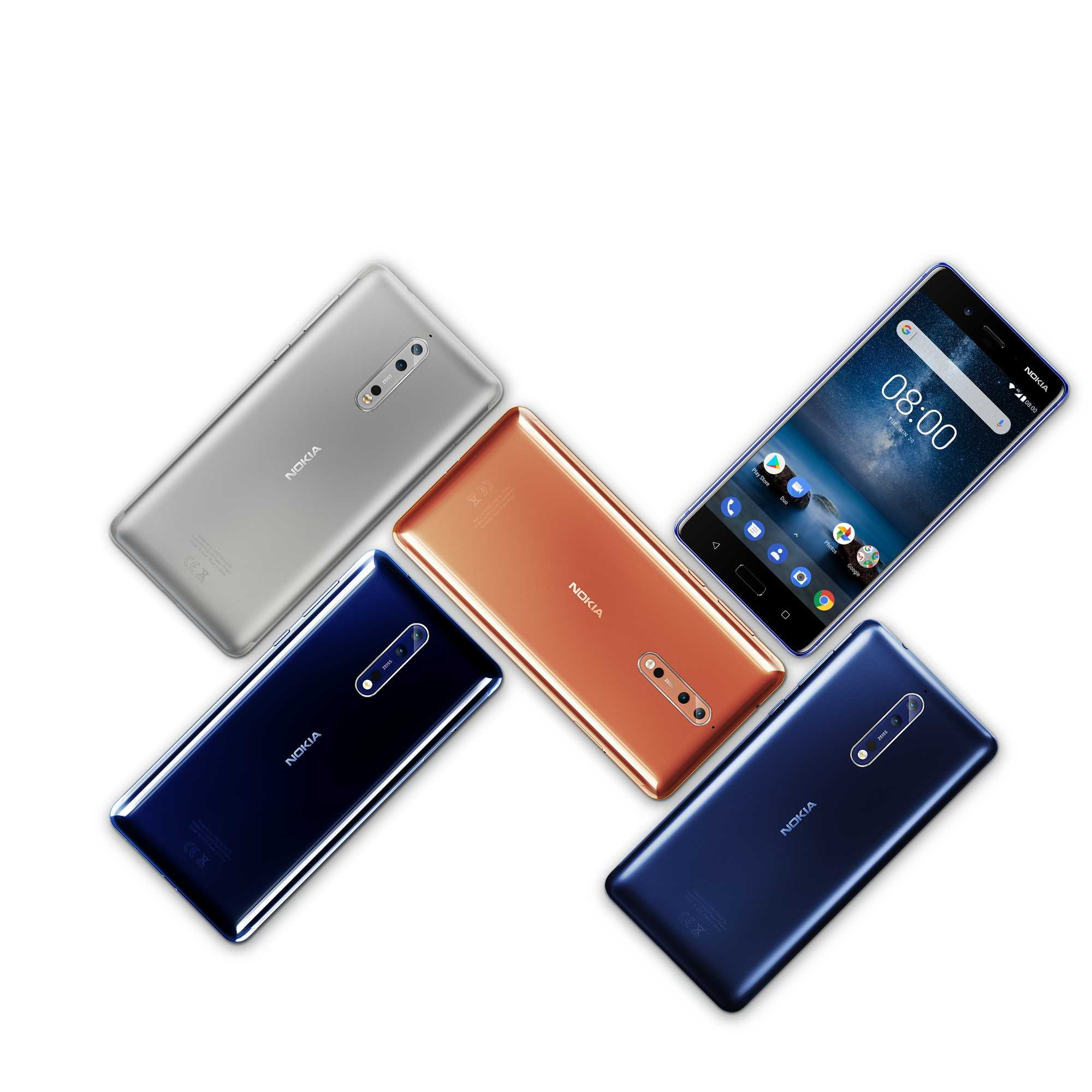 Nokia - Android 8 Oreo für alle Modelle, inklusive dem Nokia 3