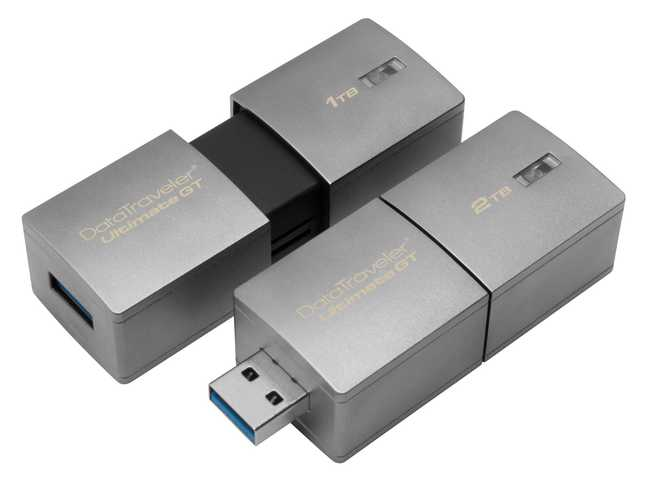 Kingston lanciert USB-Stick mit 2 Terabyte
