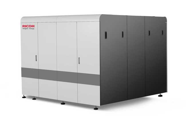 Ricoh zeigt High-Speed-Inkjetdruckplattform
